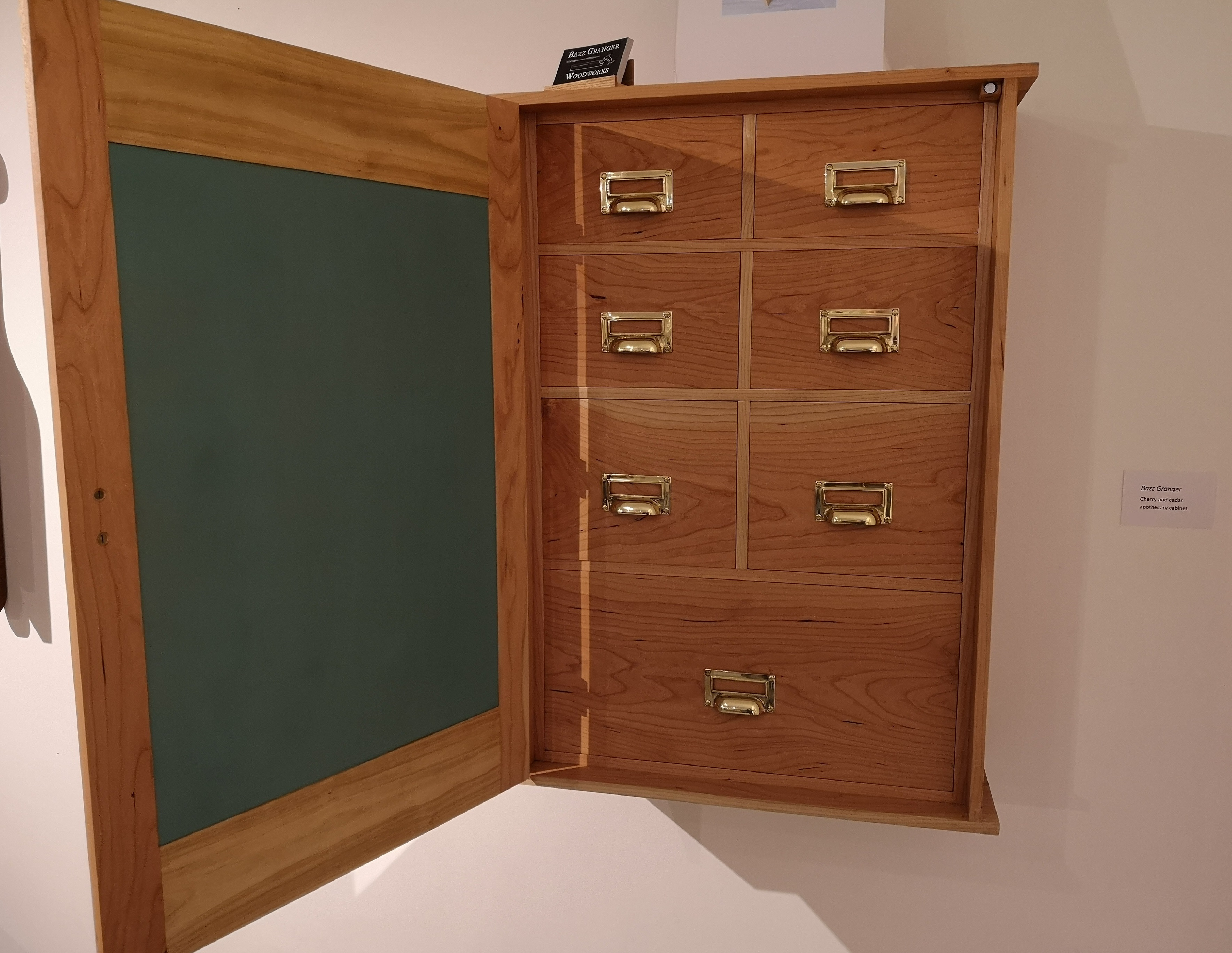 Cherry Apothecary Cabinet